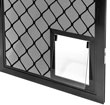 Diamond with Prowler Proof Pet Door