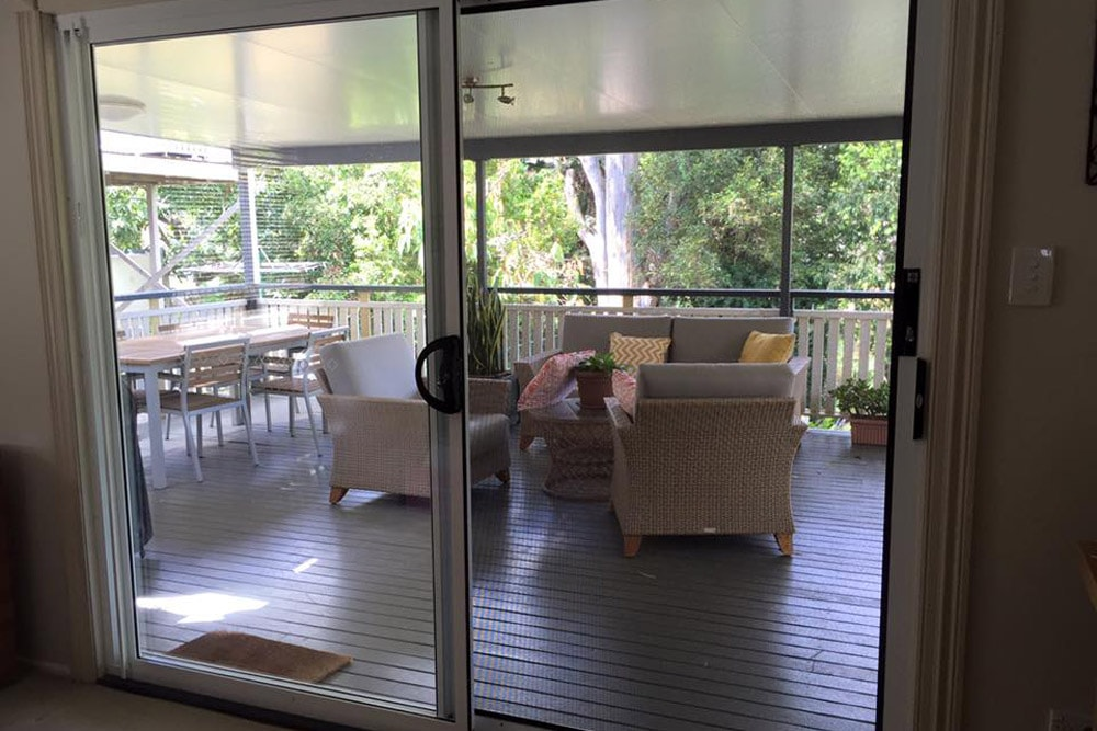 Security Screen Sliding Door