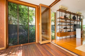 Security Screen Windows and Stacking Doors on home in Annerley