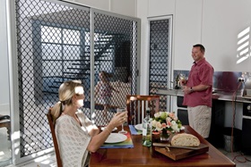 Diamond Design Security Screen Doors