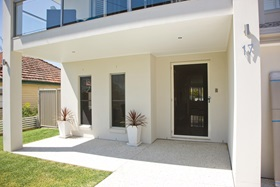 Security Screens on Modern Home in Coorparoo