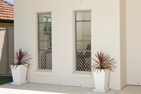 Hung Windows with Security Screens