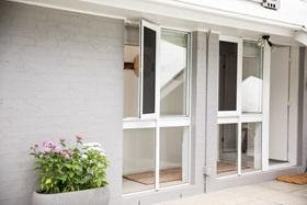 Hinge Window Security Screen on Sliding Window