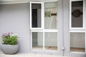 Open Hinge Window Security Screen