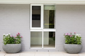 Closed Hinge Window Security Screen