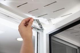 Removable Hinge Window Sash