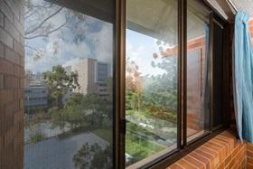 Security Screens on University Living Quarters