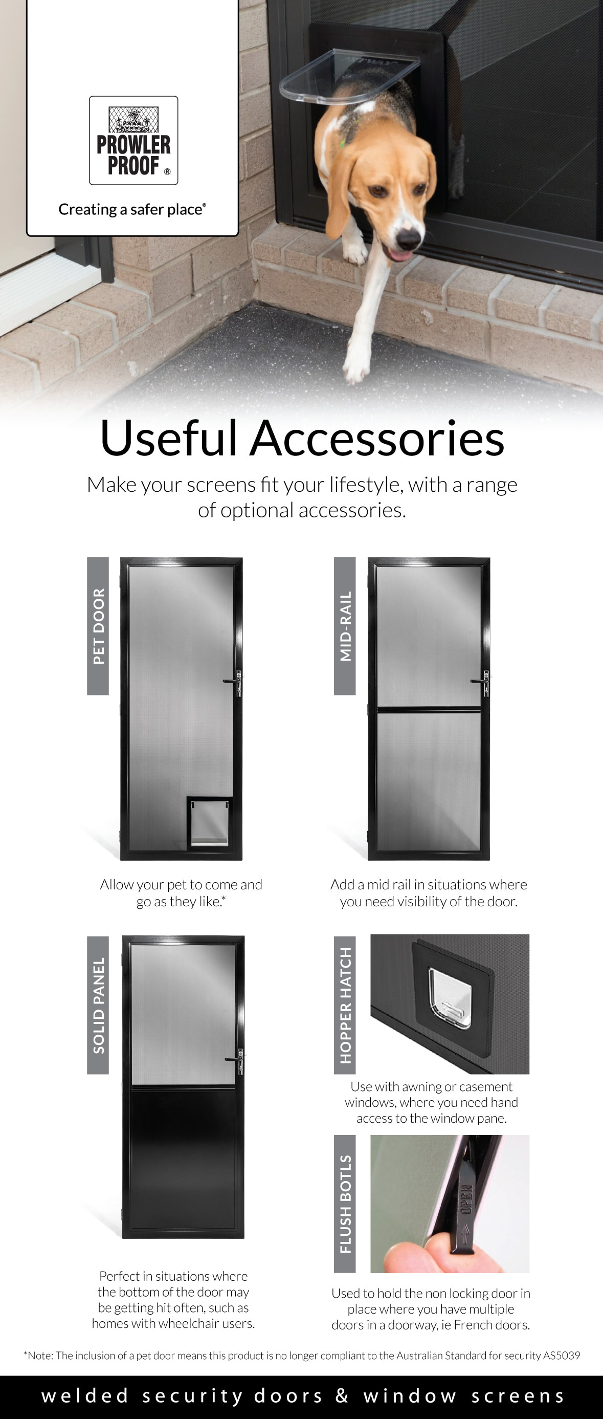 Useful Accessories Infographic