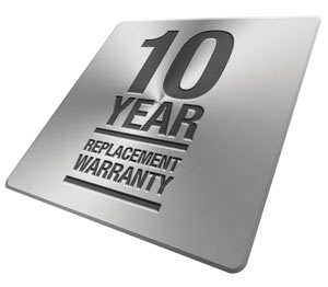 Prowler Proof 10 year warranty badge