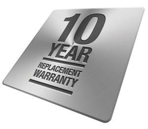 Prowler Proof 10 year warranty badge