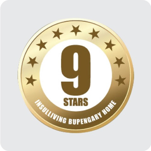 9.5 star energy rating