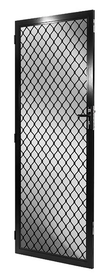 Prowler Proof Diamond hinge door security screen