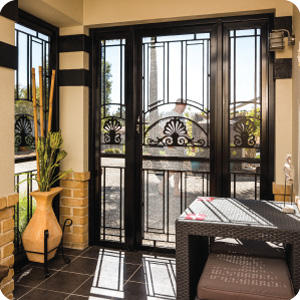 Heritage Screen Doors on entrance of home