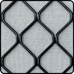 Aluminium grille