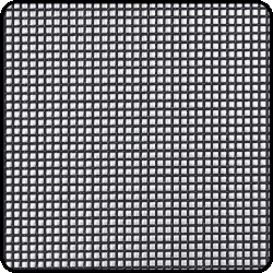 Marine grade stainless steel mesh