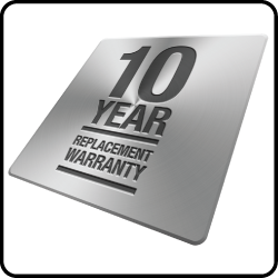 Full replacement warranty